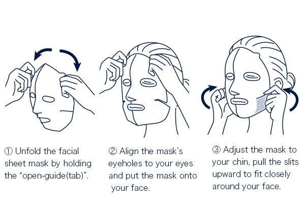 Well-cared for the skin around the nose when you wear 2D face mask